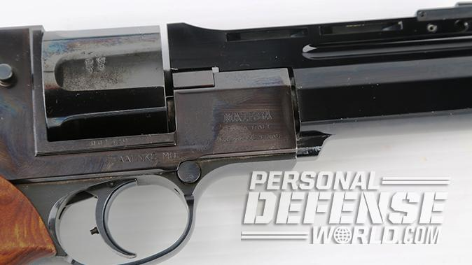 semi-auto revolver mateba cylinder