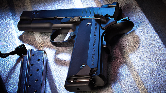 nighthawk tri-cut carry pistol mag release