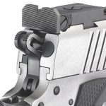 Ruger SR1911 Target 10mm pistol rear sight