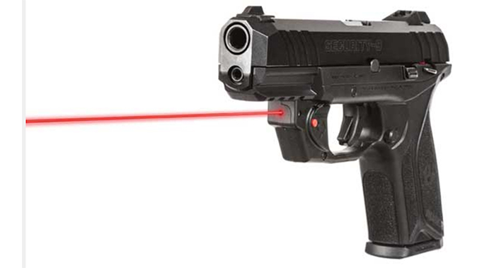 Ruger Security-9 pistol laser sight