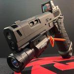STI DVC Omni pistol front angle