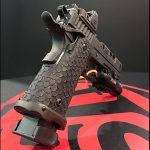 STI DVC Omni pistol rear angle