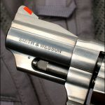 smith wesson Model 66 Combat Magnum revolver ejector rod