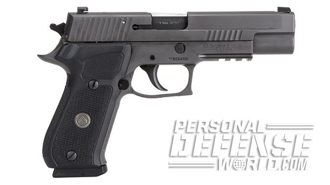 Sig Sauer P220 Legion 10mm pistol right profile