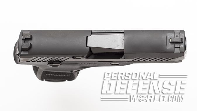 sig sauer p320 subcompact pistol slide