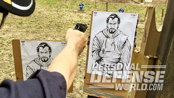taurus judge revolver range test
