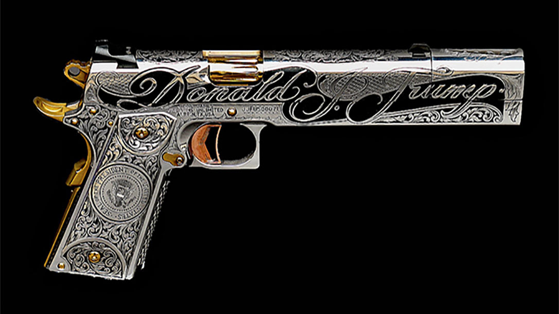 Trump 1911 Jesse James Builds Custom Gun For President Trump