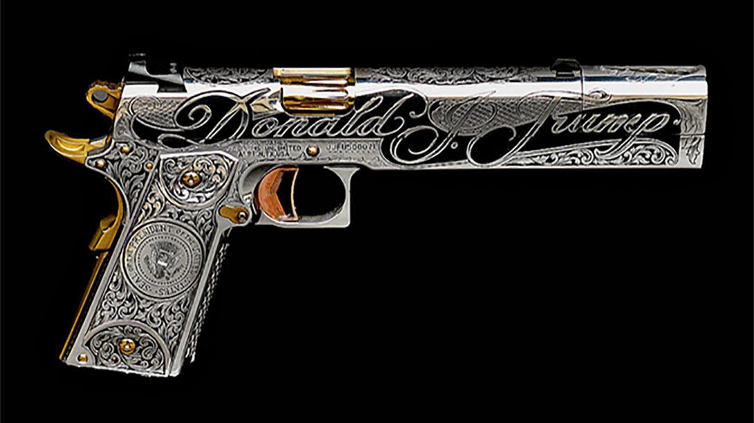 jesse james trump 1911 gun