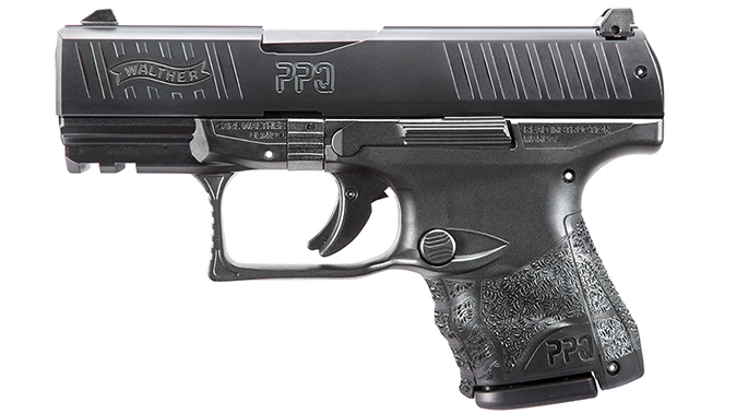 Walther PPQ Subcompact pistol left profile
