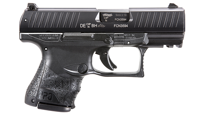 Walther PPQ Subcompact pistol right profile