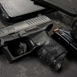 Walther PPQ Subcompact pistol left angle