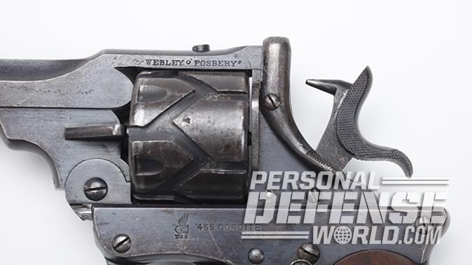 semi-auto revolver webley-fosbery hammer