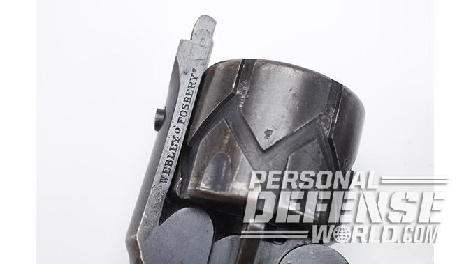 semi-auto revolver webley-fosbery cylinder