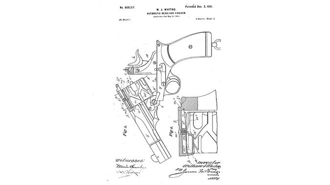 semi-auto revolver webley-fosbery patent