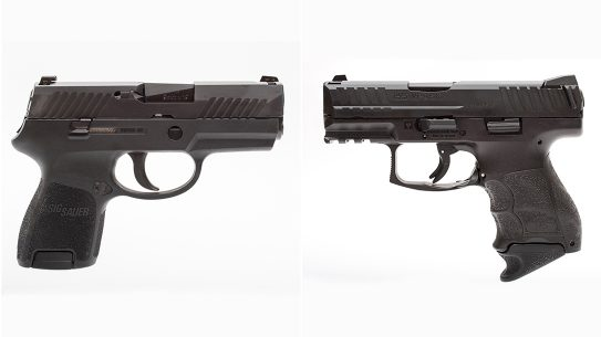 Sig P320 Subcompact vs. Heckler & Koch VP9SK lead reup