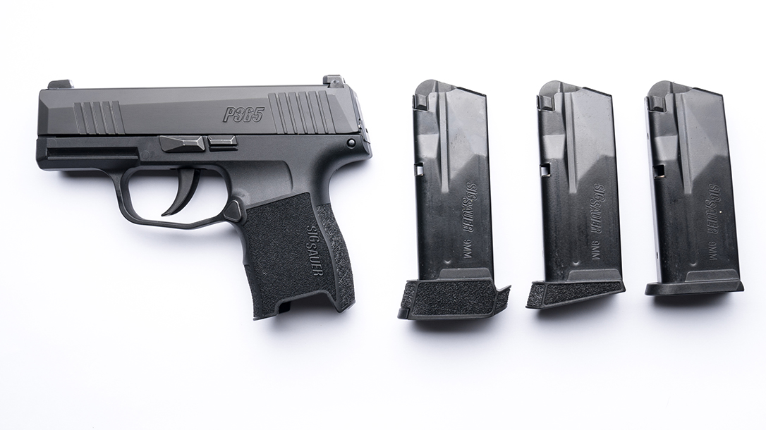Sig Sauer P365 first look magazines