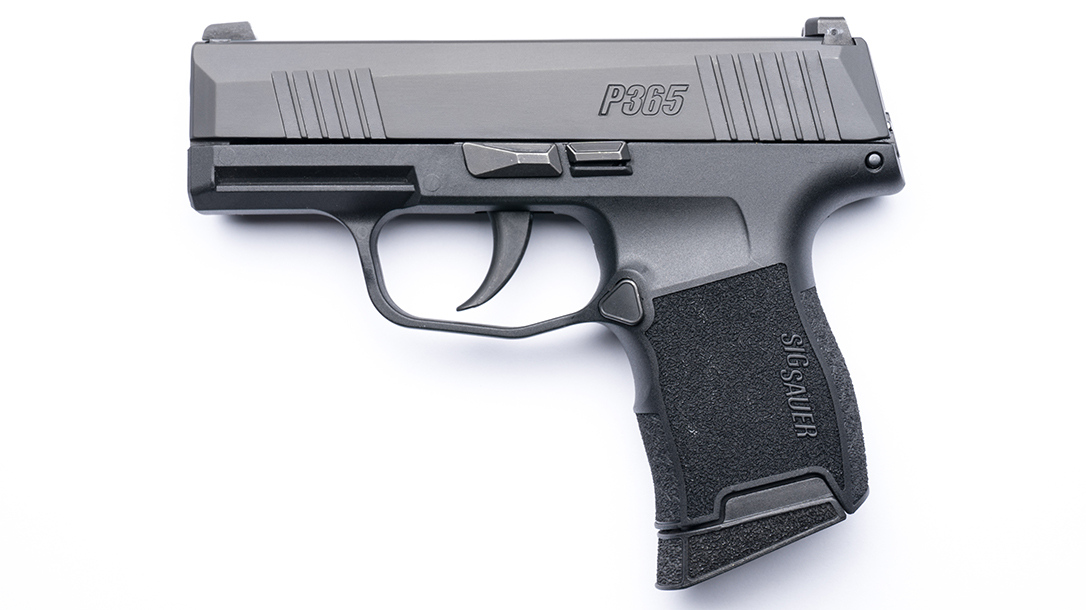 Sig Sauer P365 first look profile