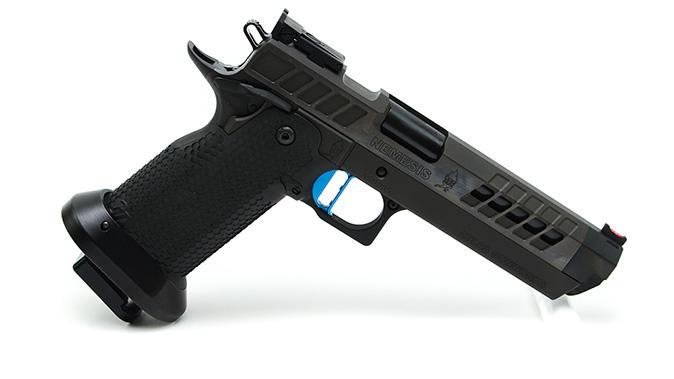 Atlas Gunworks Nemesis pistol angle