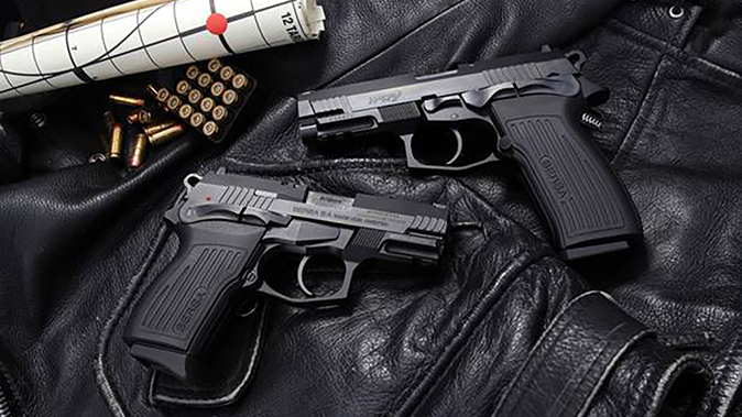Bersa TPR Pistols side by side