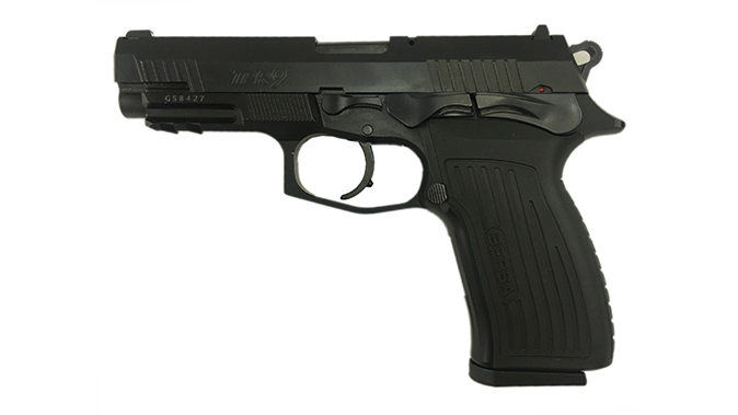 Bersa TPR9 pistol black left profile