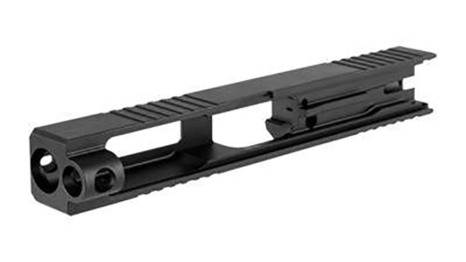 Brownells Long Slide glock frame left angle