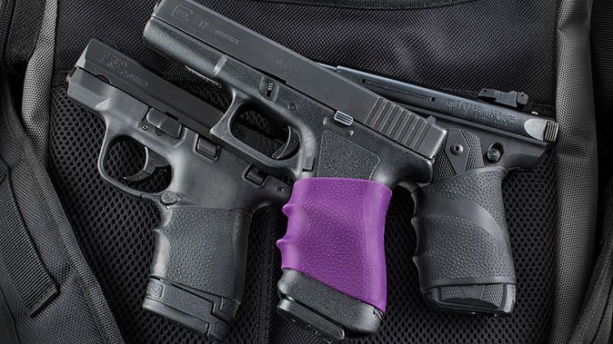 CCW Grips hogue handall rubber grip