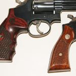 CCW Grips wooden revolver grips