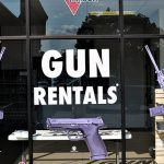 first gun rental sign