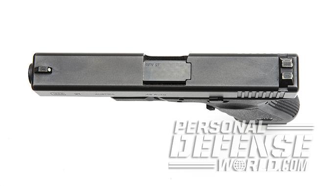 Glock 21SF pistol slide