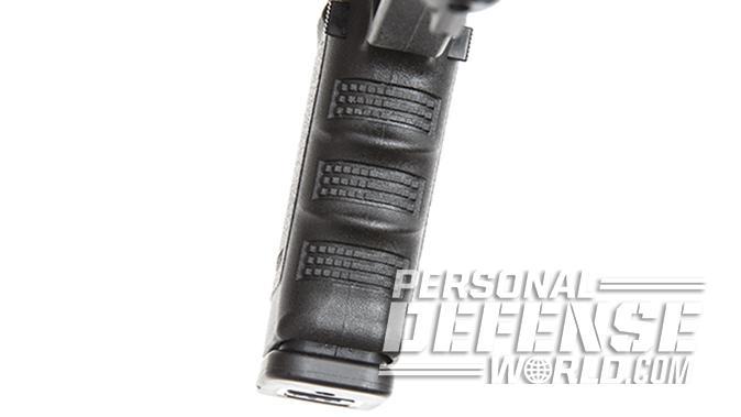 Glock 21SF pistol frontstad