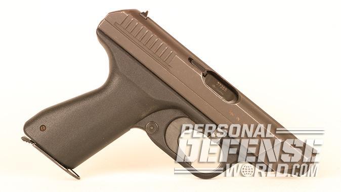 HK VP70 pistol right profile