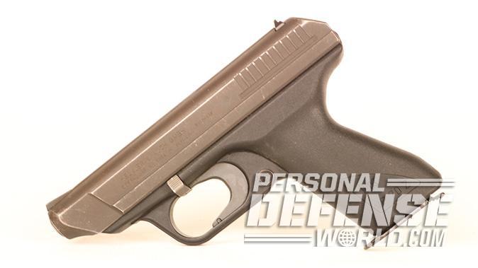 HK VP70 pistol left profile