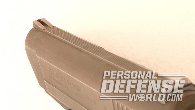 HK VP70 pistol front sight