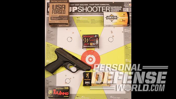 HK VP70 pistol target