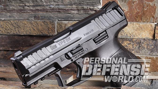 HK VP9SK pistol left profile