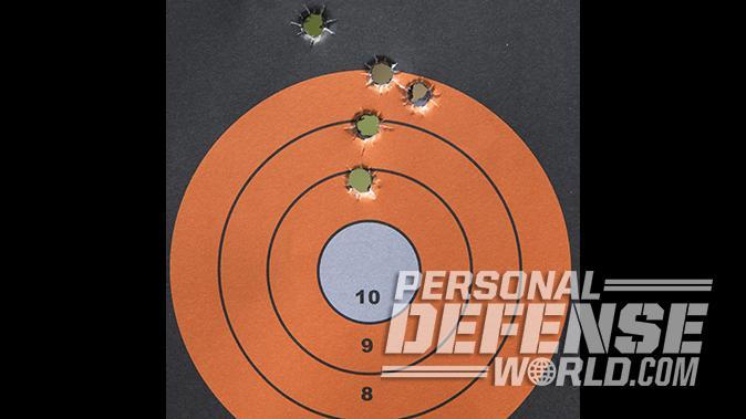 Kimber Micro 9 Desert Tan pistol target