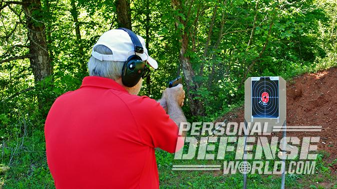 Ruger LCP II pistol test lcrx