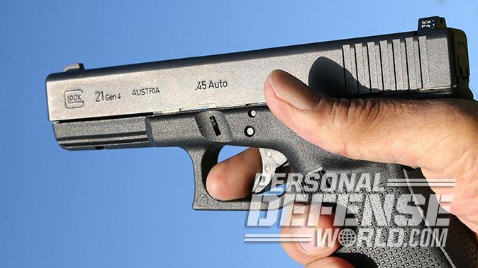 massad ayoob hair trigger glock pistol