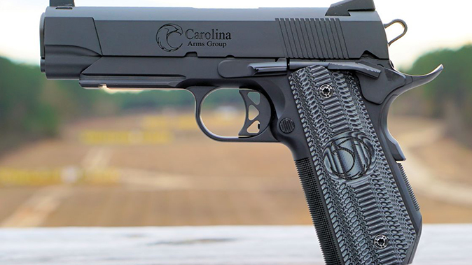 carolina arms group Privateer Carry Commander pistol left profile
