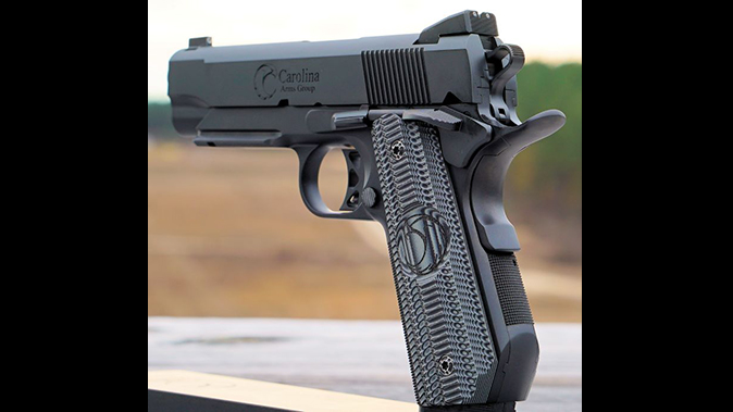 carolina arms group Privateer Carry Commander pistol rear angle