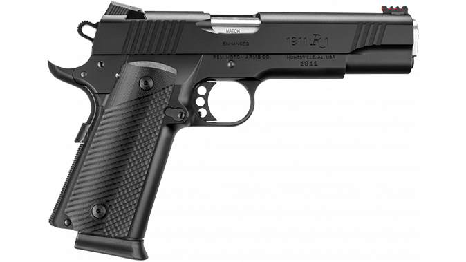 Remington 1911 R1 Ultralight Executive and enhanced double stack pistol right profile