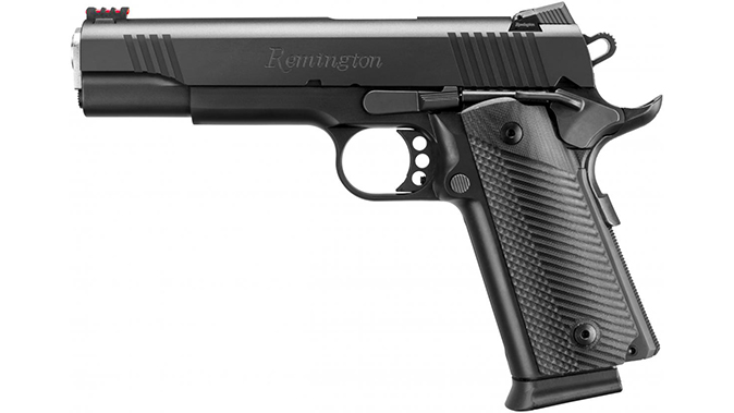 Remington 1911 R1 Ultralight Executive and enhanced double stack pistol left profile