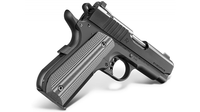 Remington 1911 R1 Ultralight Executive pistol angle