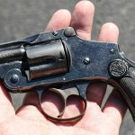 smith wesson M&P340 Review revolver in hand