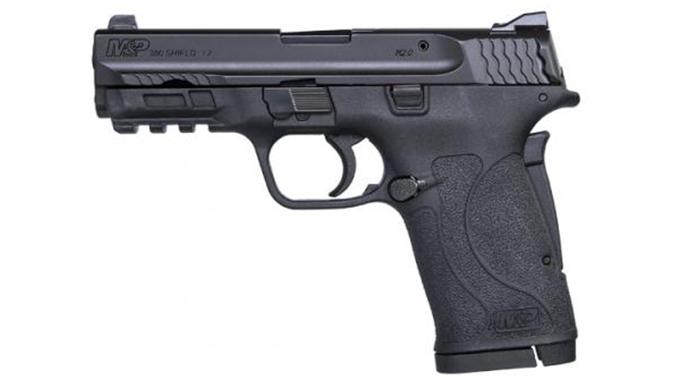 Smith & Wesson M&P380 Shield EZ pistol left profile