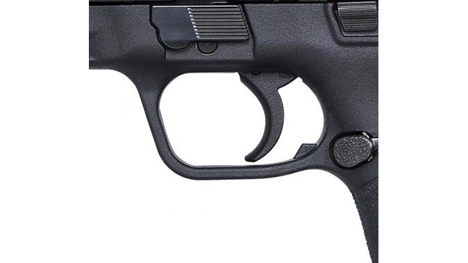 Smith & Wesson M&P380 Shield EZ pistol trigger