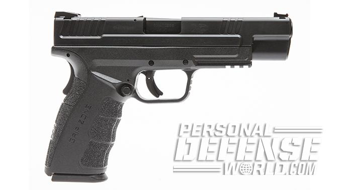 Glock 21SF springfield xd mod2 pistol right profile