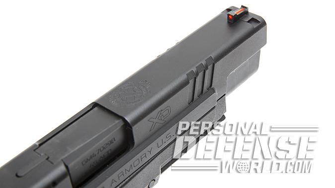 Glock 21SF springfield xd mod2 pistol angle