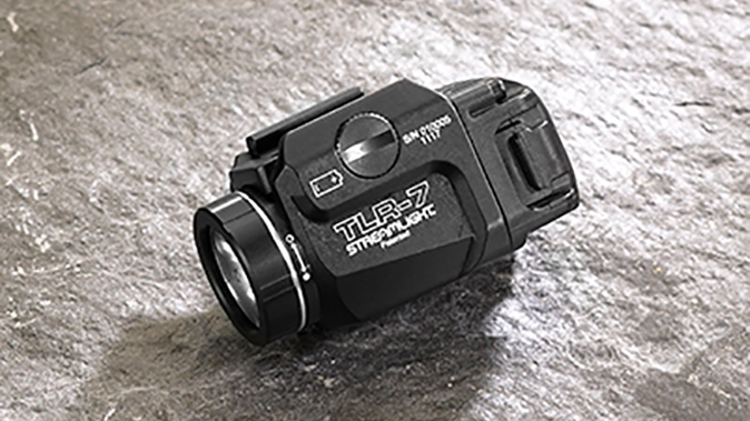 Streamlight TLR-7 light angle