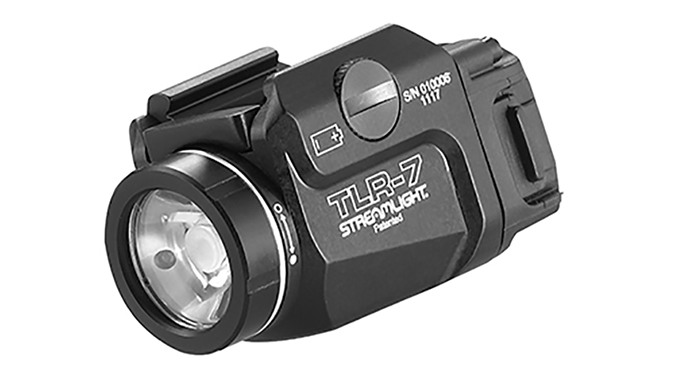 Streamlight TLR-7 light angled